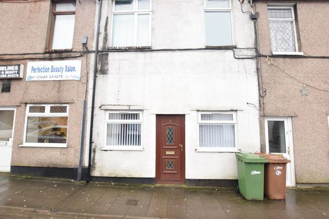 Thumbnail Flat for sale in High Street, Abercarn, Newport
