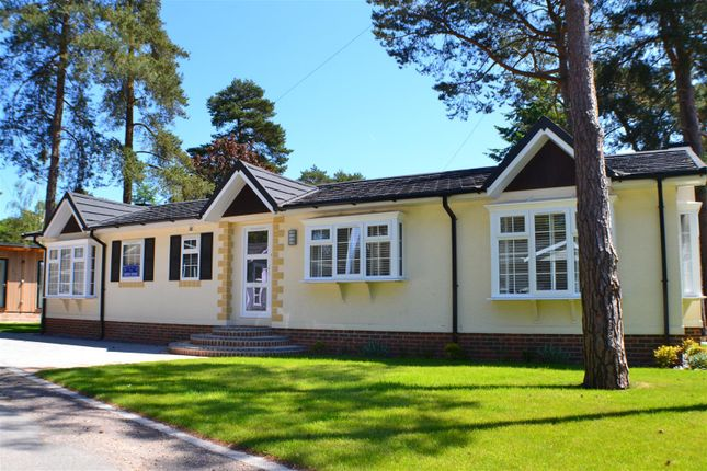 Thumbnail Mobile/park home for sale in Lone Pine Drive, West Parley, Ferndown