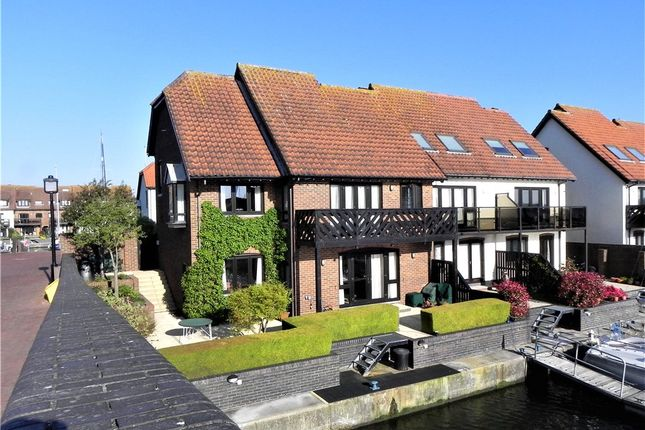 Thumbnail End terrace house for sale in Velsheda Court, Hythe Marina Village, Hythe