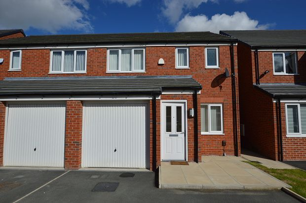 Thumbnail Semi-detached house to rent in Harrier Close, Lostock, Bolton