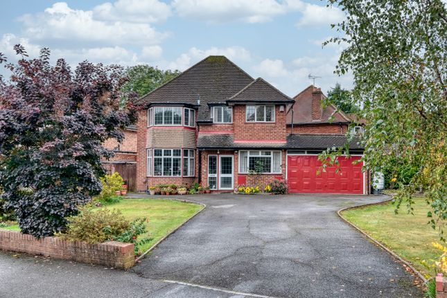 Thumbnail Detached house for sale in Winterbourne Road, Solihull