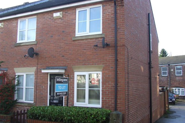 Thumbnail Town house to rent in Station Road, Brough