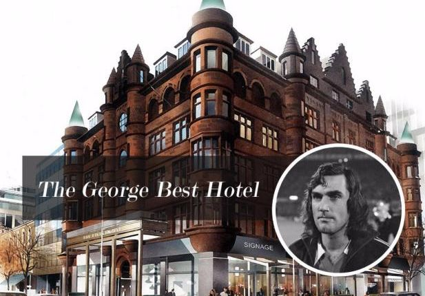 Thumbnail Flat for sale in The George Best Hotel, Belfast