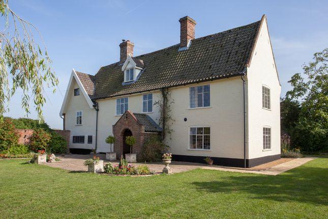 Thumbnail Farmhouse for sale in Stockton, Beccles, Norfolk
