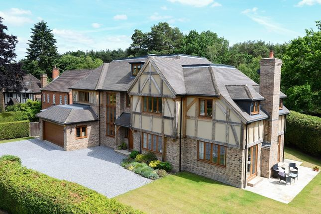 Thumbnail Detached house to rent in Little Orchard, Heather Drive, Ascot