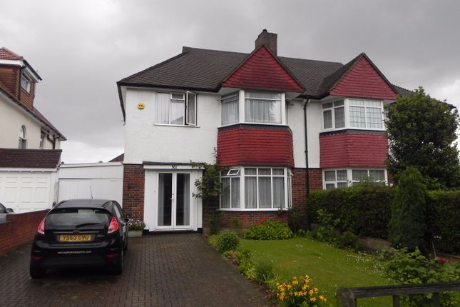 Thumbnail Semi-detached house to rent in Leigham Court Road, Streatham, London