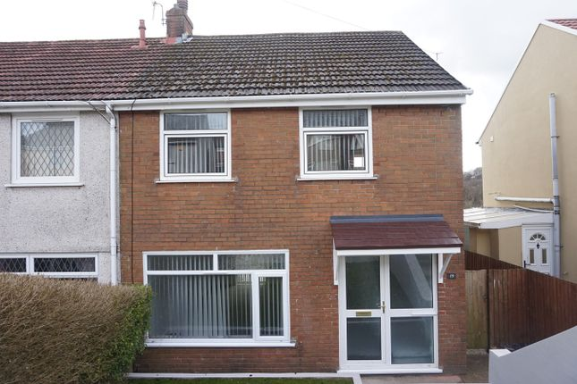Thumbnail Semi-detached house for sale in Prince Andrew Road, Pentwyn Crumlin, Newport