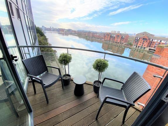 Balcony of City Wharf, Atlantic Wharf, Cardiff Bay, Cardiff CF10