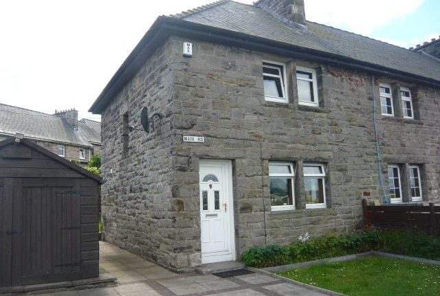 Thumbnail End terrace house to rent in Main Road, Crombie, Dunfermline