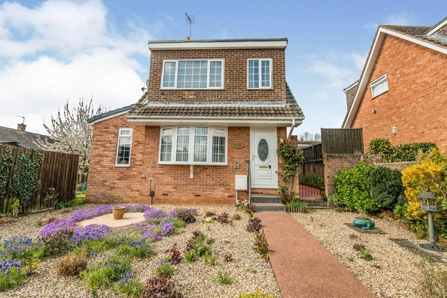 Thumbnail Detached house for sale in Willsdown Road, Alphington, Exeter