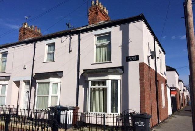 Thumbnail Terraced house for sale in Albermarle Street, Boulevard, Hull