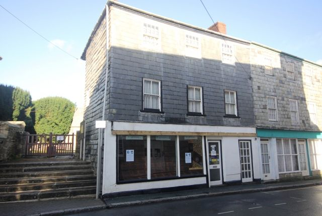 Thumbnail Commercial property for sale in Market Place, St. Columb