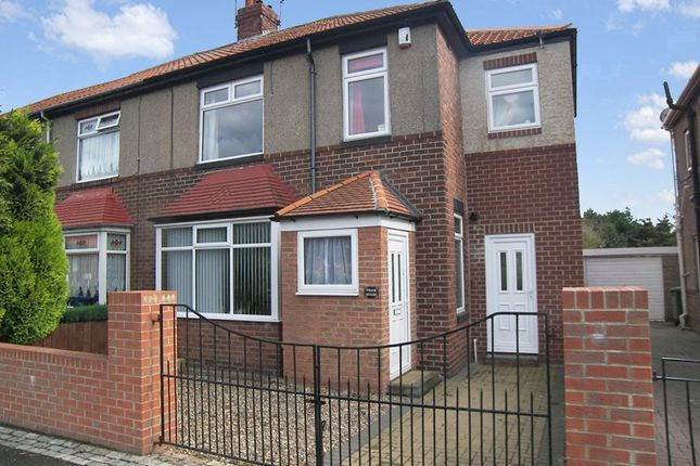 Thumbnail Semi-detached house for sale in High Pit Road, Cramlington