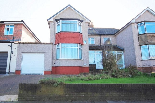 Thumbnail Semi-detached house for sale in Score Lane, Childwall, Liverpool