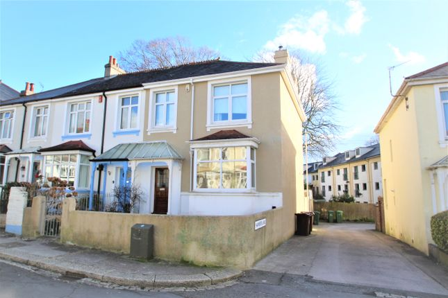 Thumbnail End terrace house to rent in Glenavon Road, Plymouth