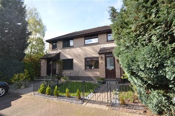 Thumbnail Semi-detached house for sale in Marine Gardens, Springfield Quay, Glasgow