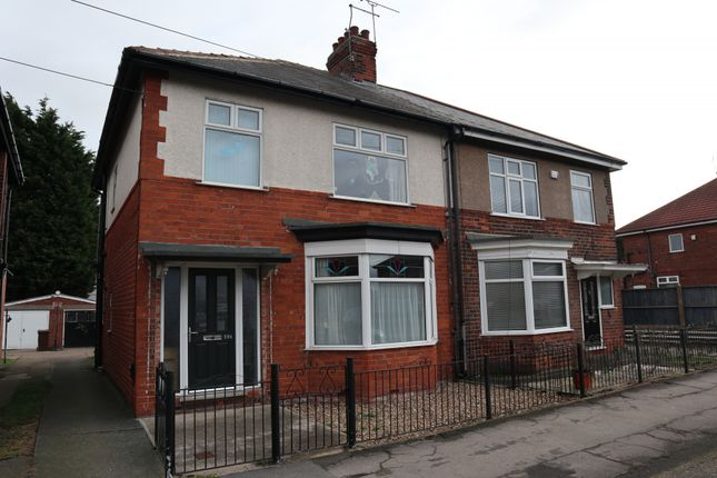 Thumbnail Semi-detached house to rent in Chanterlands Avenue, Hull