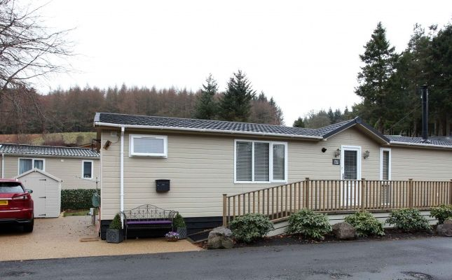 Thumbnail Lodge for sale in Glendevon Country Park, Glendevon, Dollar, Clackmannanshire