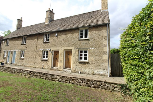 Thumbnail Terraced house for sale in Old North Road, Wansford, Peterborough