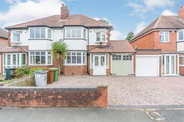 Thumbnail Semi-detached house for sale in Brookvale Road, Solihull, West Midlands