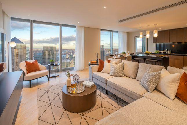 3 bed flat for sale in Landmark Pinnacle, Canary Wharf E14