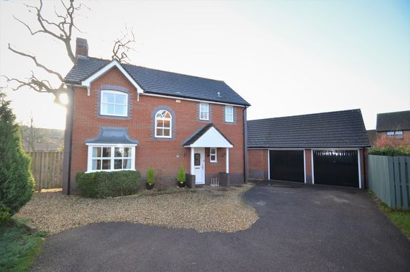 Thumbnail Detached house for sale in Leverlake Close, Tiverton