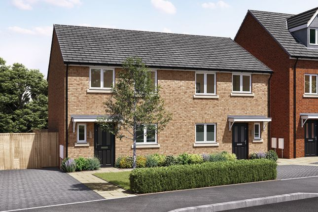 """3 bed semi-detached house for sale in """"The Eveleigh"""" at Goldcrest Road, Washington NE38"""