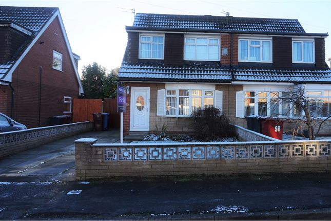 Thumbnail Semi-detached house for sale in Grassington Crescent, Liverpool
