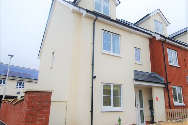Thumbnail Semi-detached house to rent in St. Clares Close, Seaton
