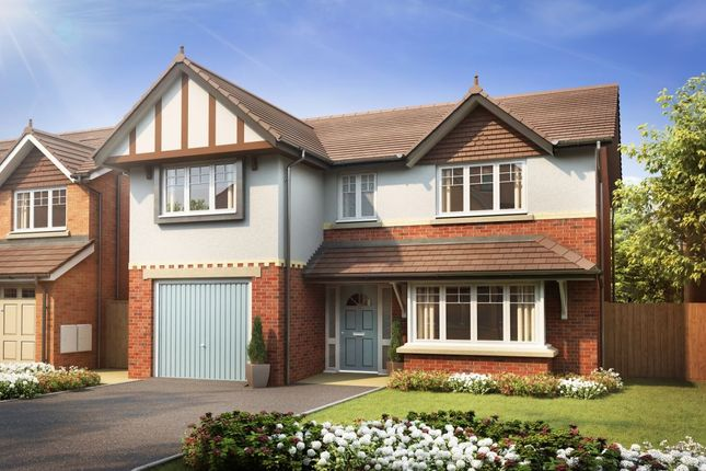 Thumbnail Detached house for sale in Greenhill Gate, Penwortham, Preston