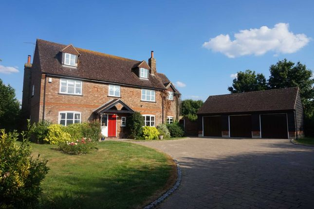 Thumbnail Detached house to rent in Mill Road, Slapton, Leighton Buzzard