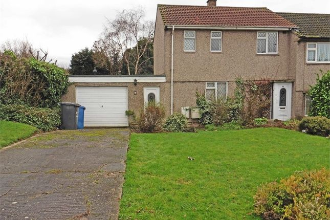 Thumbnail End terrace house for sale in Masefield Drive, Tamworth, Staffordshire