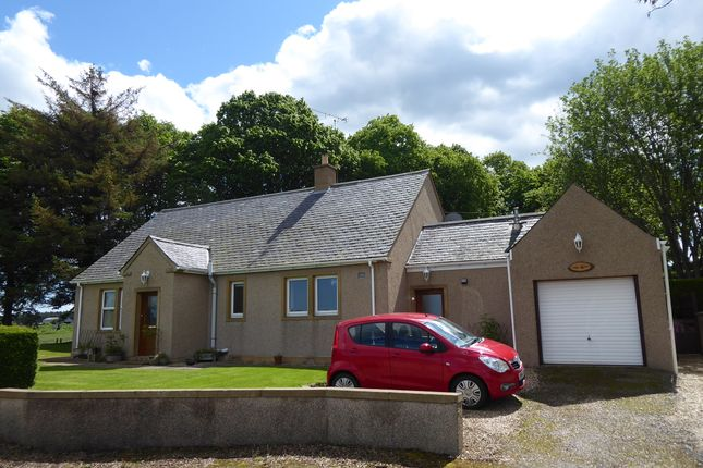 Thumbnail Detached bungalow for sale in Birnie, By Elgin