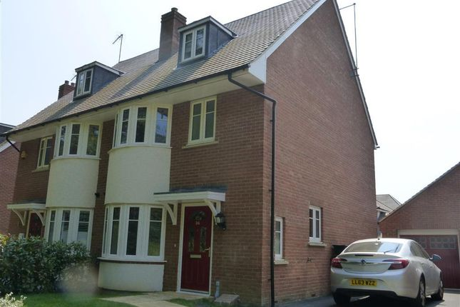 Thumbnail Semi-detached house to rent in Leatherworks Way, Northampton