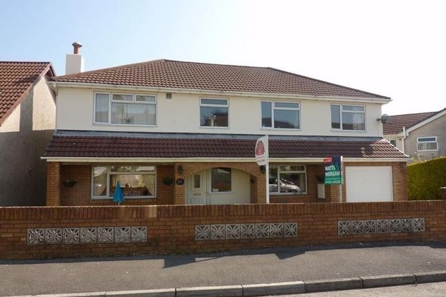 Thumbnail Detached house for sale in Darren View, Llangynwyd, Mid Glamorgan.