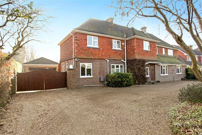 Thumbnail Detached house for sale in Pilgrims Way, Guildford, Surrey