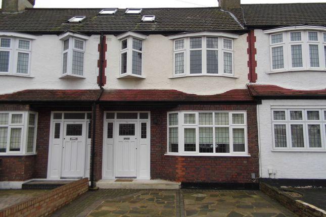 Thumbnail Terraced house for sale in Blakesware Gardens, Bush Hill Park Borders