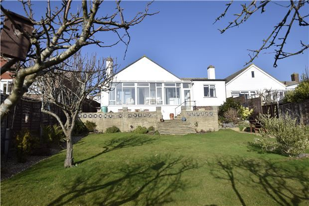 Thumbnail Detached bungalow for sale in Rookhurst Road, Bexhill-On-Sea, East Sussex