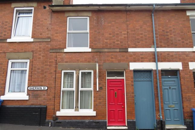 Thumbnail Terraced house to rent in Sherwin Street, Derby