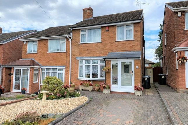 Thumbnail Semi-detached house for sale in Longhurst Croft, Northfield, Birmingham