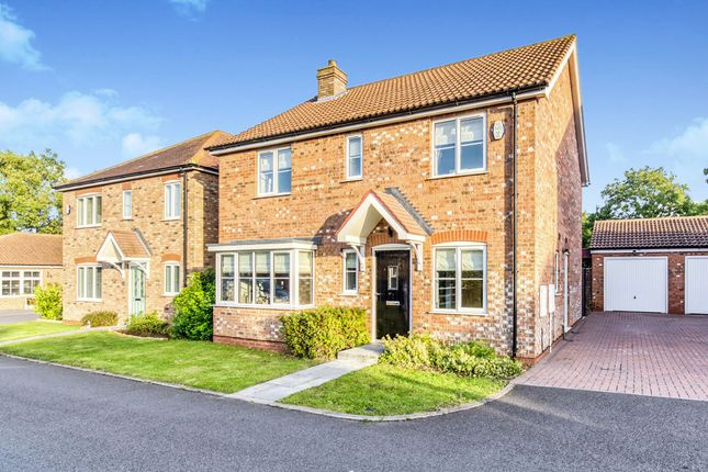 Thumbnail Detached house for sale in Saxonfields Drive, Stallingborough, Grimsby