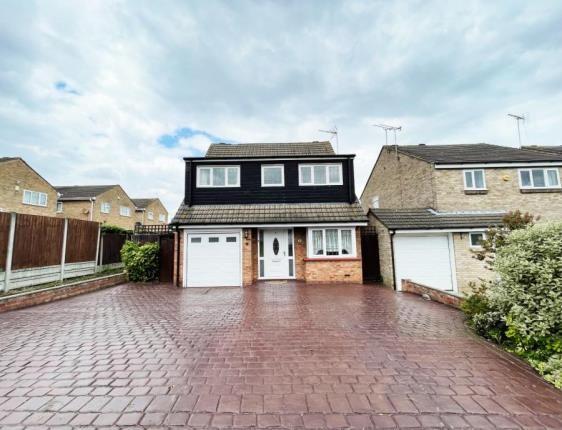 Thumbnail Detached house for sale in Essex Close, Laindon, Basildon