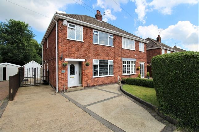 Thumbnail Semi-detached house for sale in Greenway, Waltham, Grimsby