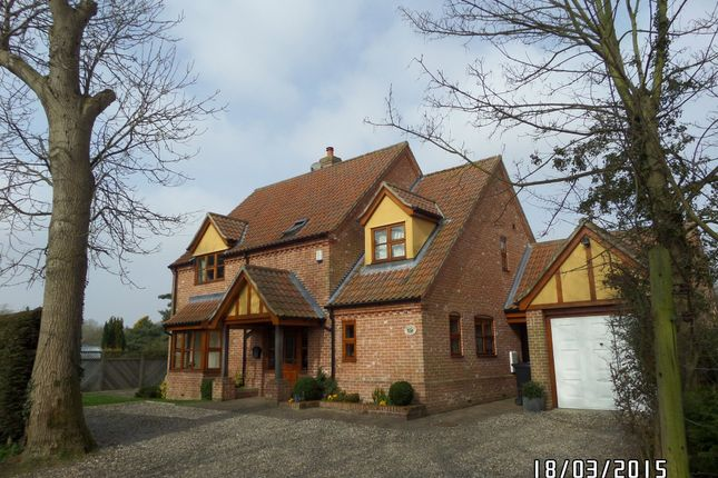 Thumbnail Detached house to rent in Hedley Lane, Carlton Colville, Lowestoft