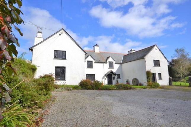 Thumbnail Detached house for sale in St. Dominick, Saltash, Cornwall