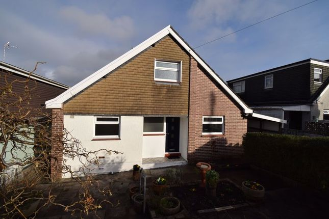 Thumbnail Detached bungalow for sale in 34 Wernlys Road, Pen-Y-Fai, Bridgend