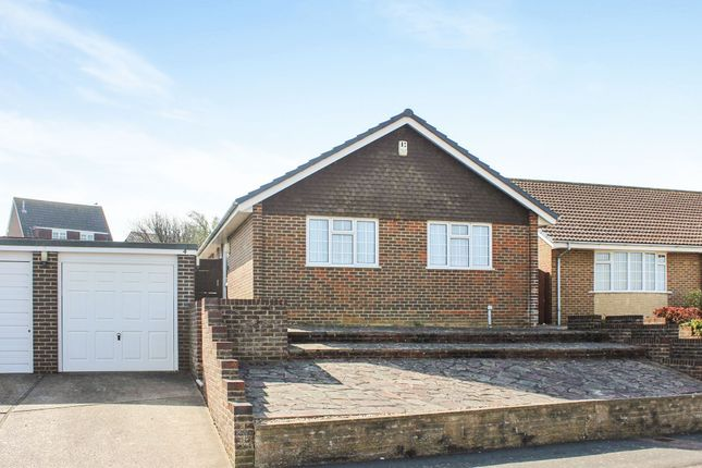 Thumbnail Detached bungalow for sale in Victor Close, Seaford