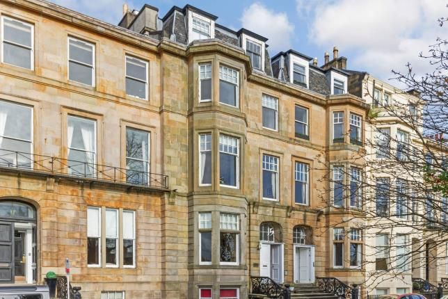 Thumbnail Flat for sale in Woodlands Terrace, Woodlands, Glasgow