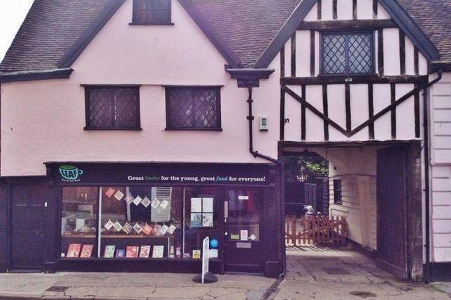 Thumbnail Restaurant/cafe for sale in 8 Old Cross, Hertford