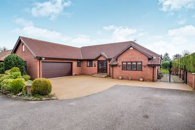 Thumbnail Detached bungalow for sale in Cherry Garth, Campsall, Doncaster